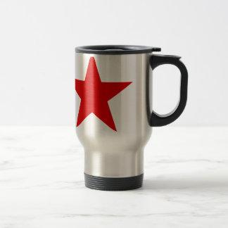赤い星の★ トラベルマグ