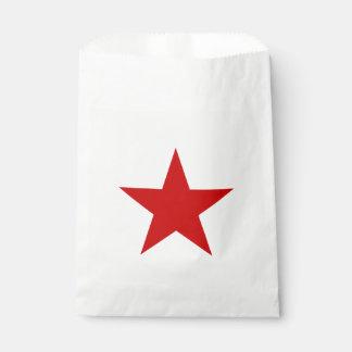 赤い星 フェイバーバッグ