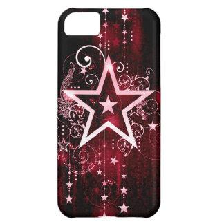 赤い星 iPhone5Cケース