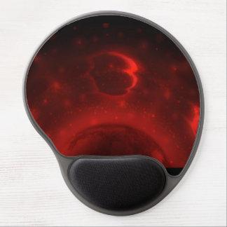 赤い月 ジェルマウスパッド