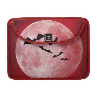 赤い月 MacBook PROスリーブ