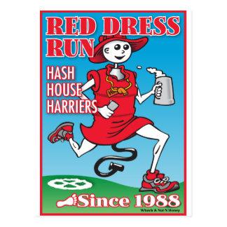 赤い服の操業 ポストカード