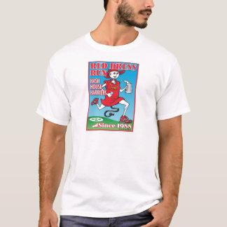 赤い服の操業 Tシャツ