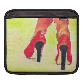赤い服 iPadスリーブ