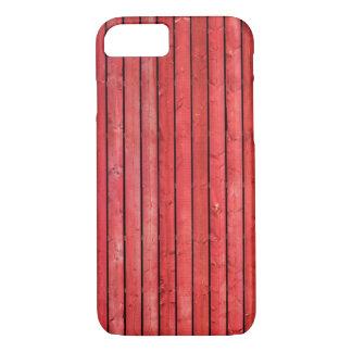 赤い木の板のiPhone 7の箱 iPhone 8/7ケース