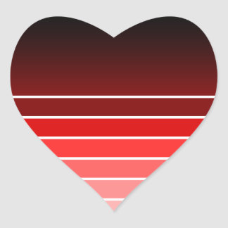 赤い材料見本 ハートシール