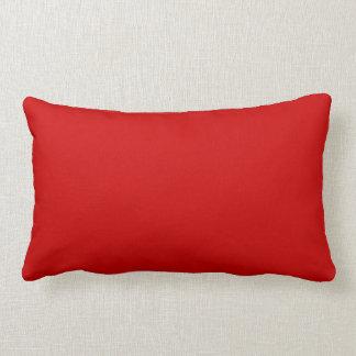 赤い枕 ランバークッション