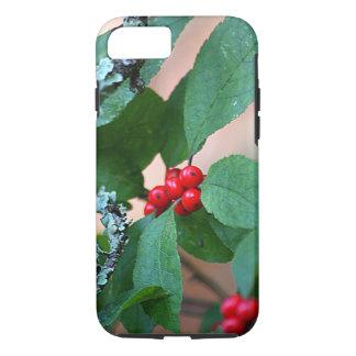 赤い果実ブッシュ iPhone 8/7ケース