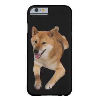 赤い柴犬犬の電話箱 BARELY THERE iPhone 6 ケース