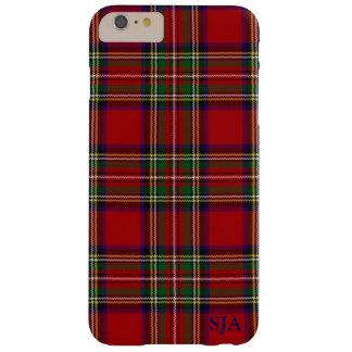 赤い格子縞のデザインのiPhoneの箱 Barely There iPhone 6 Plus ケース