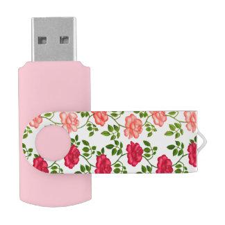 赤い正式のパーティーのバラUSB 64GBのフラッシュドライブ USBフラッシュドライブ