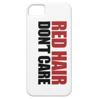 赤い毛は気になりません iPhone SE/5/5s ケース