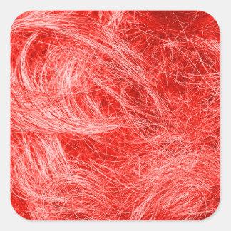 赤い毛皮 スクエアシール