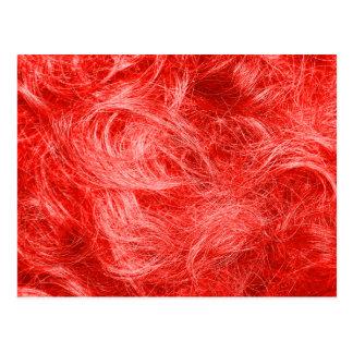 赤い毛皮 ポストカード