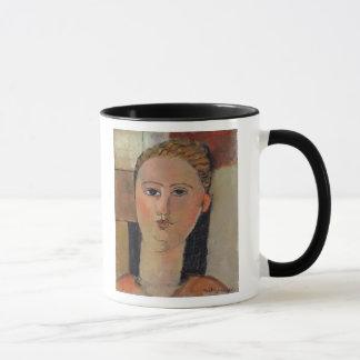赤い毛1915年を搭載する女の子 マグカップ