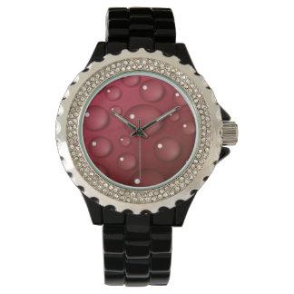 赤い水低下パターン 腕時計