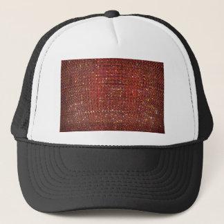 赤い水晶背景 キャップ