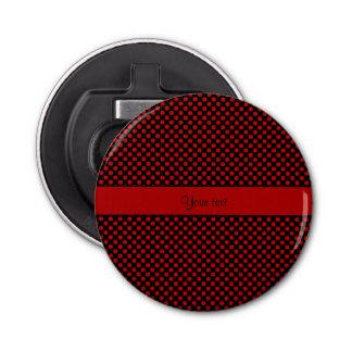 赤い水玉模様 栓抜き