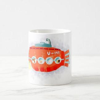 赤い潜水艦 コーヒーマグカップ