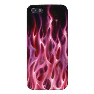 赤い火の電話箱 iPhone 5 カバー