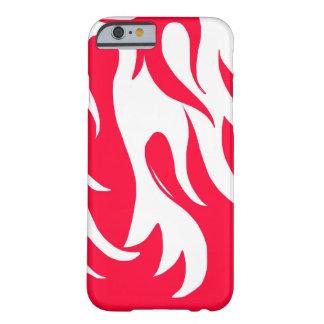 赤い炎を競争させます BARELY THERE iPhone 6 ケース