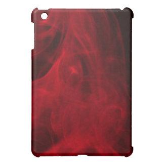 赤い煙のipadの箱 iPad mini カバー