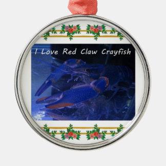 赤い爪crayfish.jpg メタルオーナメント