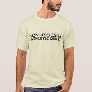 赤い犬鉱山運動DEPT Tシャツ