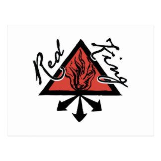 赤い王 ポストカード