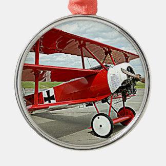 赤い男爵の三葉機 メタルオーナメント