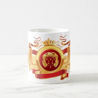 """赤い男爵""""(占星術の)十二宮図ジェミニ""""の11のozのクラシックで白いマグ コーヒーマグカップ"""