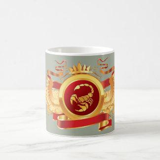 """赤い男爵""""(占星術の)十二宮図蠍座""""の11のozの変形させるマグ マジックマグカップ"""