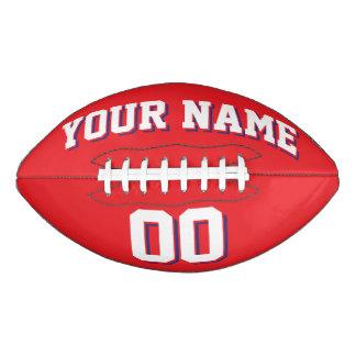 赤い白および海軍習慣のフットボール アメリカンフットボール