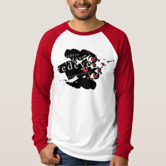 赤い目の生産のブランドデザイン001 Tシャツ