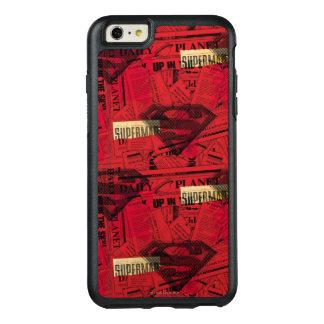 赤い盾パターン オッターボックスiPhone 6/6S PLUSケース