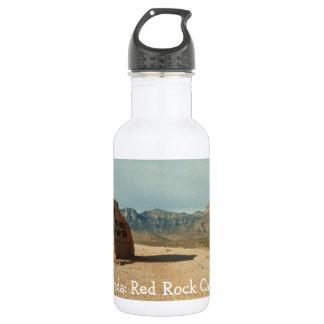 赤い石の歓迎; ネバダの記念品 ウォーターボトル