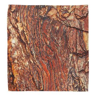 赤い石の質 バンダナ