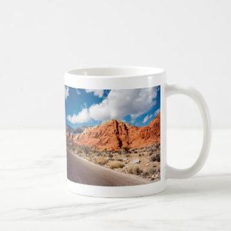 赤い石渓谷のマグ コーヒーマグカップ