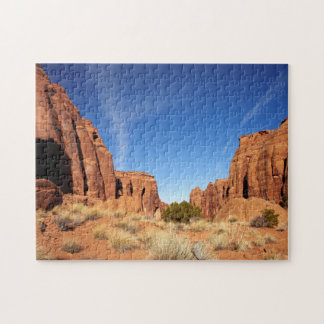 赤い石渓谷 ジグソーパズル