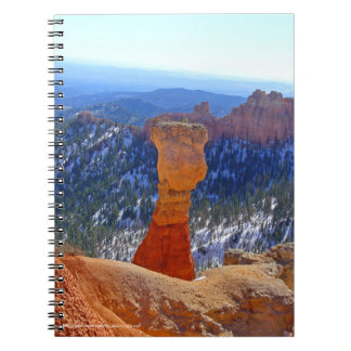 赤い祖父の螺旋綴じのノート ノートブック