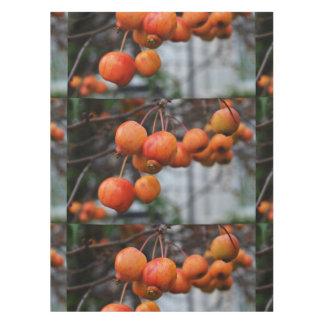 赤い秋のりんご テーブルクロス