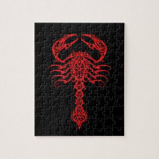 赤い種族の蠍 ジグソーパズル