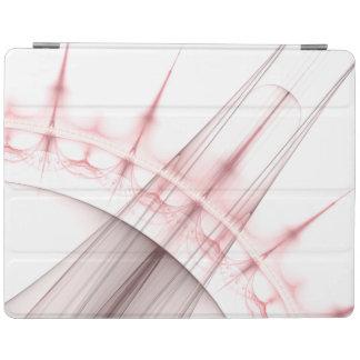 赤い穴の粒子のジェット機 iPadスマートカバー