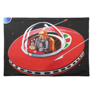 赤い空飛ぶ円盤 ランチョンマット