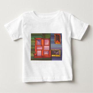 赤い窓 ベビーTシャツ