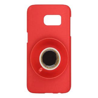 """赤い箱""""私のエネルギー"""" SAMSUNG GALAXY S7 ケース"""