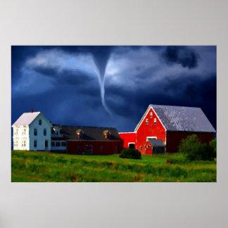 赤い納屋の嵐 ポスター