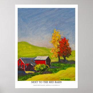 赤い納屋の隣 ポスター