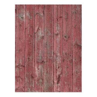 赤い納屋木 ポストカード