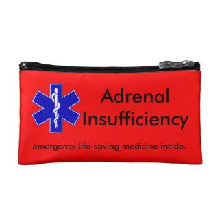 赤い緊急のキットの箱: 人命救助のステロイド コスメティックバッグ